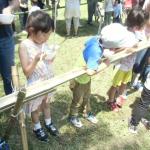 7/8(日)そーめん流し&スラックライン競技会